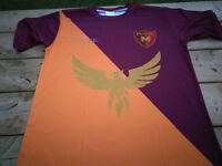 Customized team jersey and kits