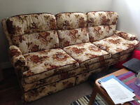 Cozy sofa, must go before July 28