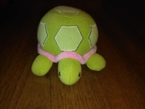 Stuffed large Turtle Rattle and Baby Play Mat