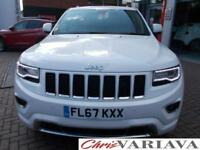 2017 Jeep Grand Cherokee V6 CRD OVERLAND Diesel white Automatic