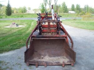 older 310 case dozer loader