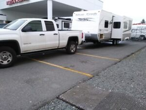 Truck & Travel Trailer for Sale