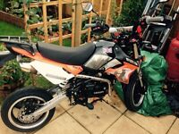 London 125cc pitbike