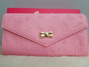 Sanrio My Melody Wallet Letter Style from Japan - Brand New