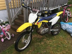 09 drz 125 near mint just fully serviced trade for atv