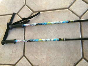 "Boy 39"" Tecno Pro Dude Junior Ski Poles"