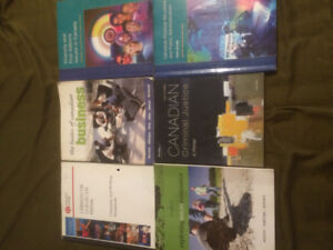 Textbooks 1ST + 2ND YEAR Police Found/BusinessAdmin $60