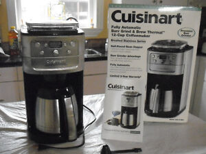 BURR GRIND & BREW THERMAL COFFEE MAKER by Cuisinart