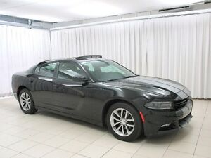 2016 Dodge Charger SXT 3.6L V6 w/ NAV, MOONROOF, HEATED/COOLED S