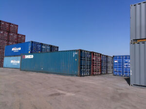 40' STD/HC STORAGE/SHIPPING CONTAINER (SEA CANS) COD