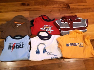 18 month old boys onesies - $5 for all 6
