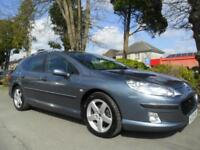 PEUGEOT 407 SW 2.0HDi 136 2004 EXECUTIVE COMPLETE WITH M.O.T HPI CLEAR INC