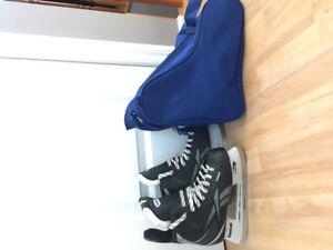 2 paires de patins garçons grandeur 4 et 6