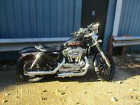 Harley Davidson XL1200C bobber 2010 13k miles