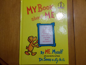 My Book About Me-Dr. Seuss-Large Hard Cover Children's book