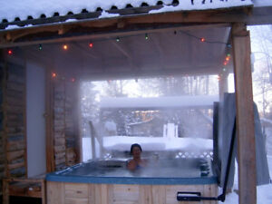 Snowmobilers paradise - HOT TUB & Sauna