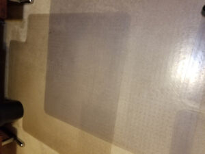 REDUCED!!      CHAIR MATS FOR CARPET