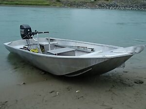 Aluminum jet boats with tunnel fully welded
