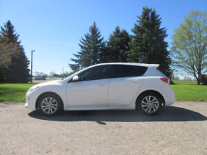 2012 Mazda 3 Sport Hatchback- ONE OWNER SINCE NEW!!  CERTIFIED