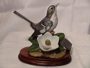 "Andrea By Sadek Collectors' Item ""Mockingbird With Magnolia"" London Ontario image 1"