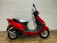Baotian BT 50 50CC 2007 SCOOTER SPARES OR REPAIR RUNNING PROJECT BIKE HPI CLEAR