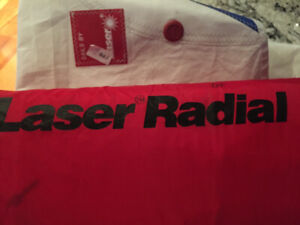 Used laser radial sails