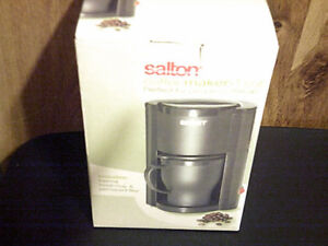 Salton 1 cup coffee maker. New in box.