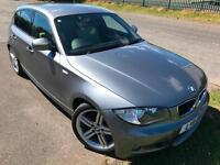 BMW 120 2.0TD DIESEL M SPORT £49 WEEK PARK SENSORS BLUETOOTH LEATHER 5DR 2011