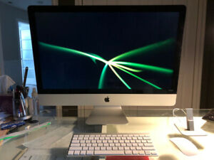"""iMac 27"""" Slim late 2013 in Excellent condition"""