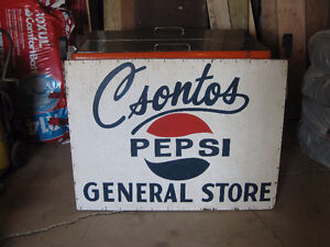 One Of A Kind Pepsi Soft Drink Collectible Sign London Ontario image 1
