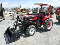 BRAND NEW NEVER USED JINMA TRACTOR WITH REAR HOE ATTATCHMENT