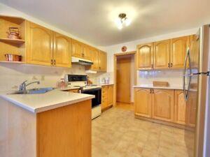 Portes et tiroirs de cuisine en chêne massif