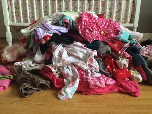 Huge pile of 6- 12 month clothes