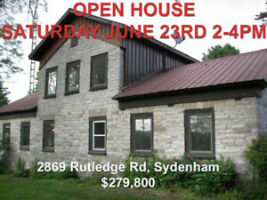 OPEN HOUSE - own a part of history! Sunday June 23rd 2-4pm