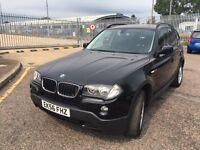 2006 X3 BMW SE ESTATE DIESEL BLACK WITH FULL SERVICE HISTORY ***4395***