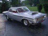 Mopar project car 1962 Plymouth Savoy 2 door post