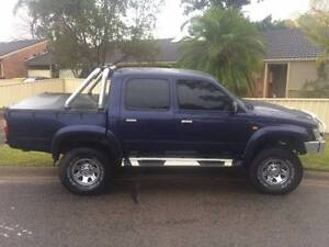 2001 Toyota Hilux sr5 4x4 ute or trade for vy/vz ss Coffs Harbour Coffs Harbour City Preview