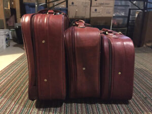 Luggage, Suitcases, set of three