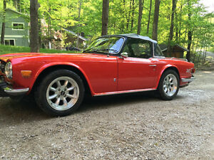 1974 Triumph TR6 looking for new home
