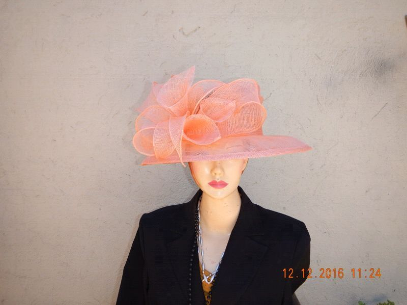 Sinamay and crin Church hats on sale | Claremont ...
