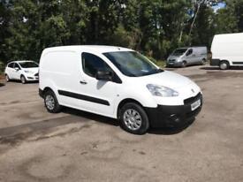 Peugeot Partner L1 850 S 1.6 Hdi 92 Van [Sld] Euro5 DIESEL MANUAL WHITE (2014)