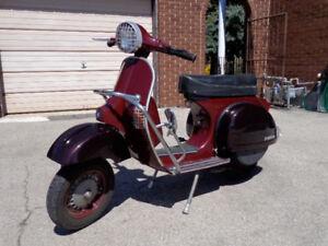Classic Vespa P200E for sale!