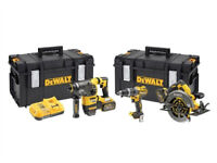 Dewalt DCK357T2 Triple Kit: DCD796 + DCH333 + DCS575 (2 x FLEXVOLT 6.0Ah)BRAND NEW 3 YEAR GUARANTEE