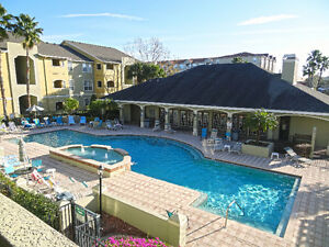 Beautiful 2 bd in Gated Resort - 9 minutes from Clearwater Beach