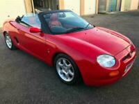 MG/ MGF 1.8i CONVERTIBLE WITH LOTS OF HISTORY