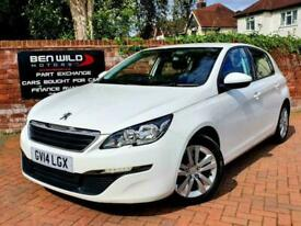 Peugeot 308 1.6e-HDi 115bhp (s/s) 2014 Active, 12 MONTHS MOT, FINANCE AVAILABLE