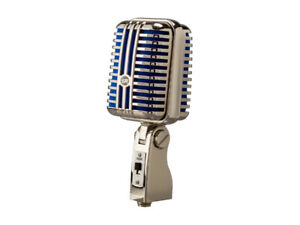 Micro Stage Right MEMPHIS CLASSIC BLUE Dynamic Mic (NEUF, NEW)