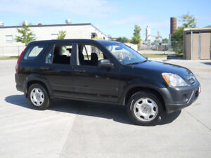 2005 Honda CR-V, AWD, Low km, Automatic, 3/Y warranty available