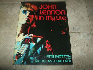 John Lennon, In My Life book