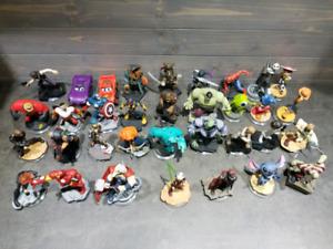 Lot de figurines Disney infinity et jeux